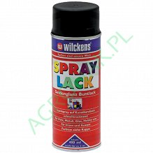 LAKIER CASE SREBNY METALIK 400 ml SPRAY GRANIT WILCKENS