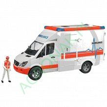 BRUDER AMBULANS MB SPRINTER 02536
